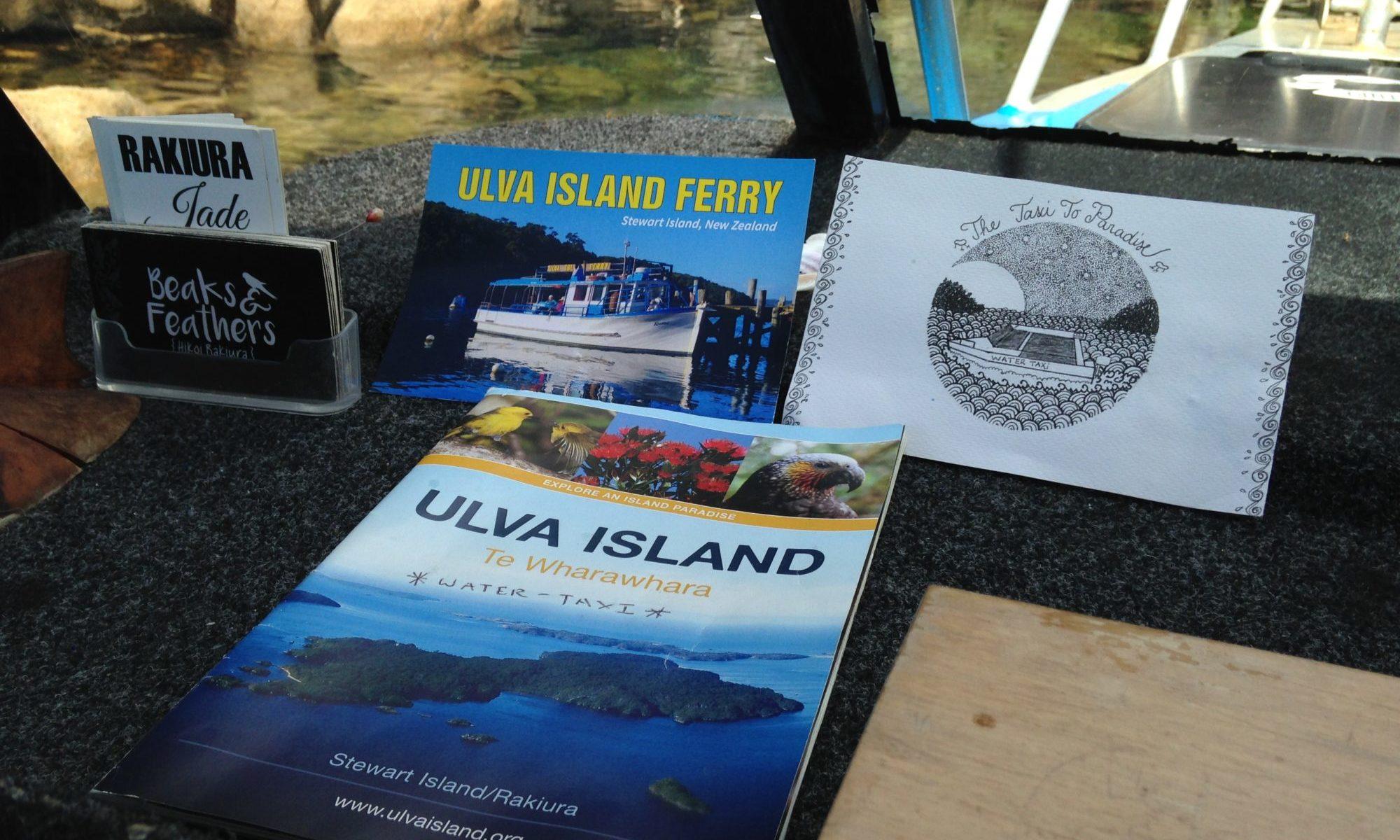 Visit Ulva Island - Self guiding bookelt aboard Kaian