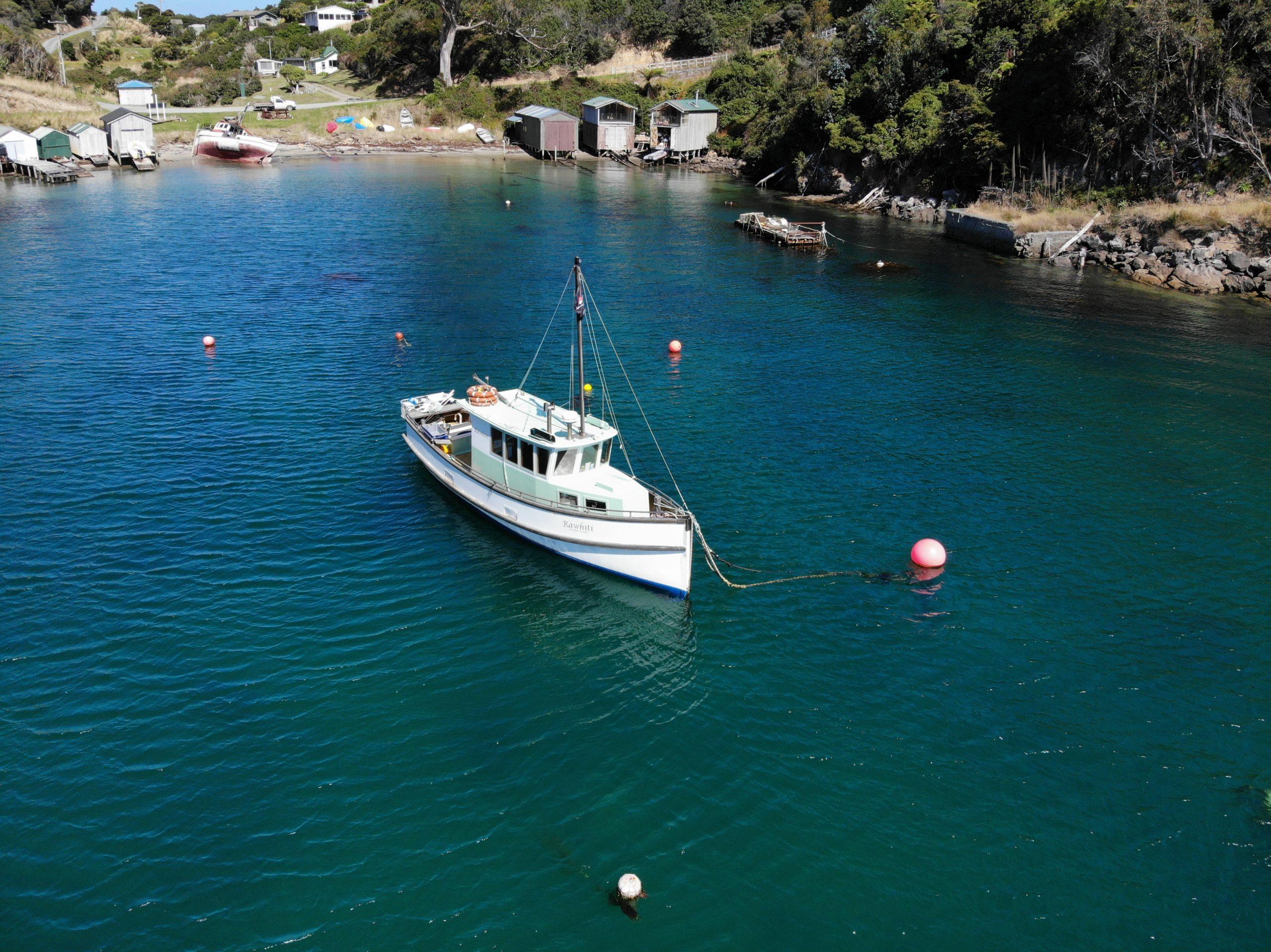 Rawhiti - Stewart Island Fishing Charters Vessel