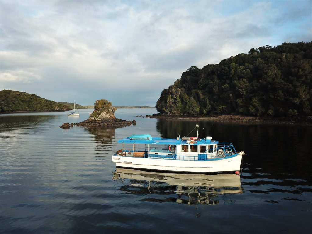 Exclusive Dessert Cruise - our vessel, Ranui