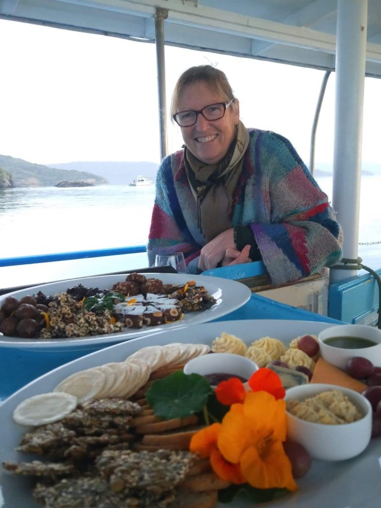 Exclusive Dessert Cruise - our chef, Deanne