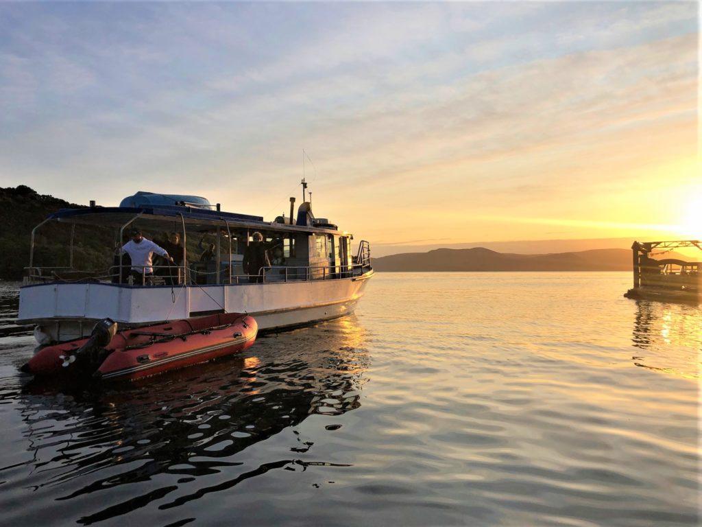 Ranui at sunset, Stewart Island