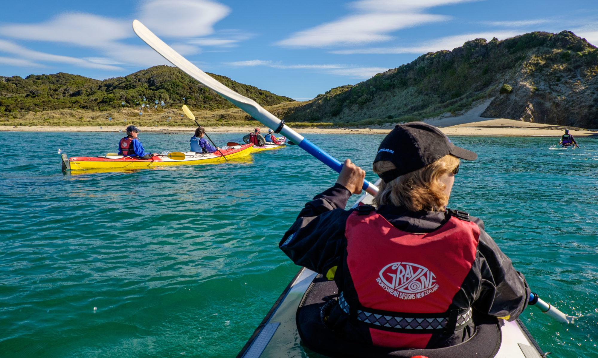 Sea Kayaking in Stewart Island